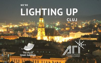 We lighted up Cluj!